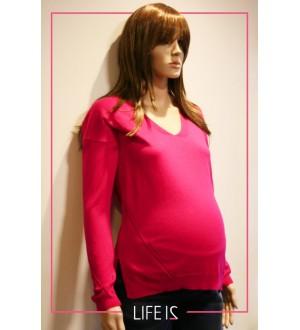 Blusa decote V | Cor: Pink