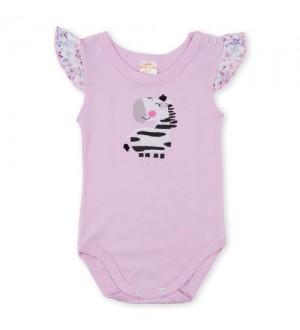 Body zebra rosa | Cor: Rosa