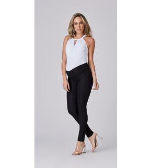 Calça alfaiataria elastic | Cor: Preta