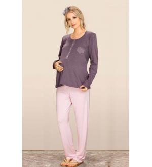 Pijama doble | Cor: Roxo